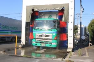 青梅物流センター洗車機