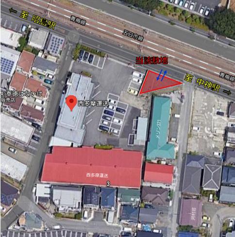 本社敷地 地図